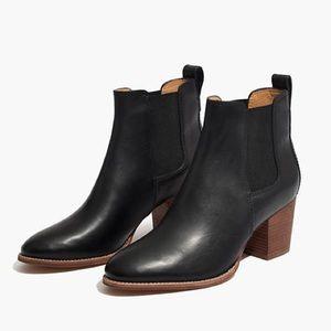 Madewell Regan booties in black